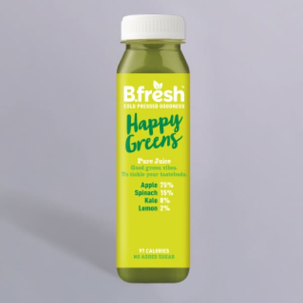B.Fresh Happy Greens Juice 250ml