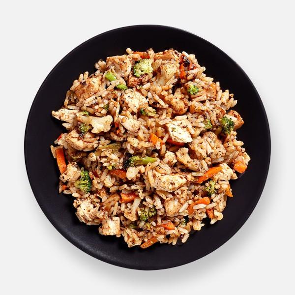 Black Bean Chicken & Rice Pot - 340 kcal