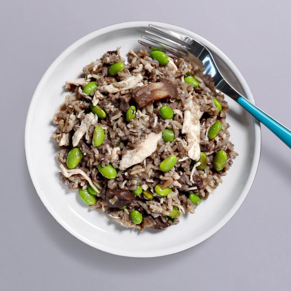 Chicken & Mushroom Risotto Pot - 376 kcal