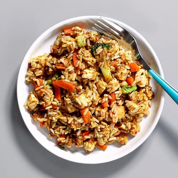 Tikka Chicken & Rice Pot - 321 kcal