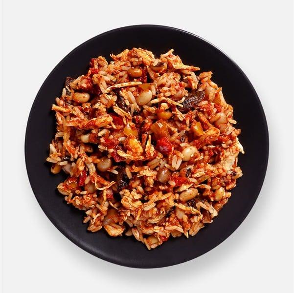 Chicken Fajita Rice Pot - 321 kcal