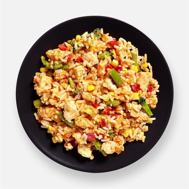 Spicy Korean Chicken & Rice Pot - 361kcal