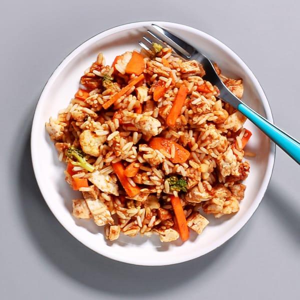 BBQ Chicken & Rice Pot - 34g Protein & 306 kcal
