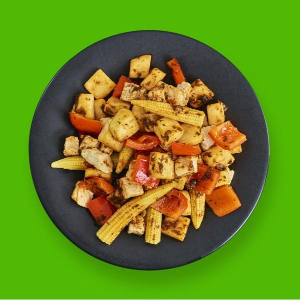 Levi Roots Sunshine Chicken Pot - 387 kcal
