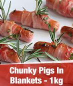 1kg Chunky Pigs In Blankets