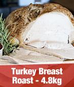 4.8kg Turkey Breast Roast