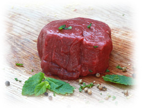 MuscleFood fillet steak