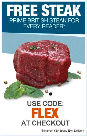Free Steak discount code