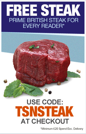 Free Steak discount code