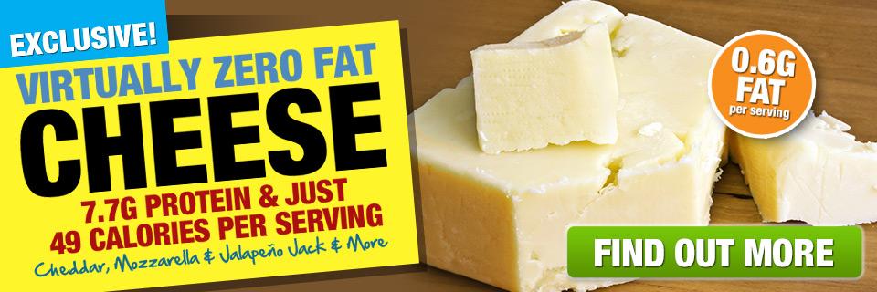 Virtually Fat Free Cheese