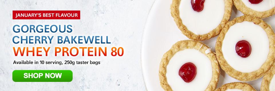 Cherry Bakewell Whey 80