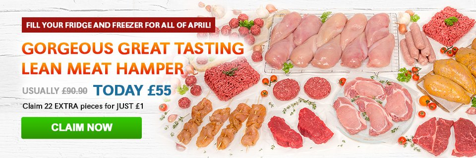 April Great Tasting Meat