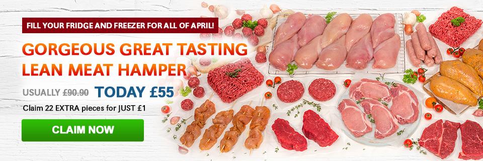 April Great Tasting Meat