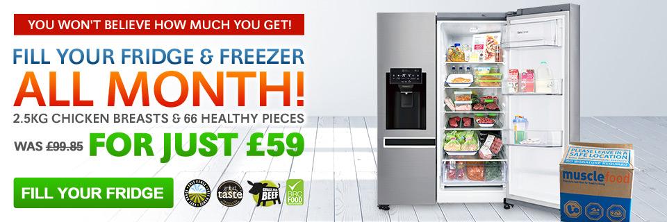 Fill Your Fridge & Freezer