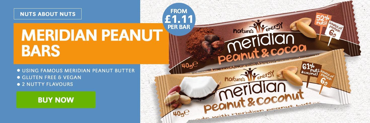 Meridian Peanut Bars