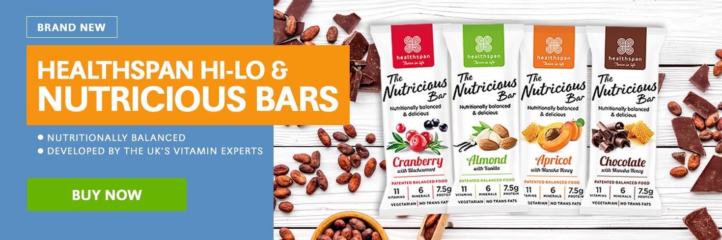 Healthspan Nutricious Bars
