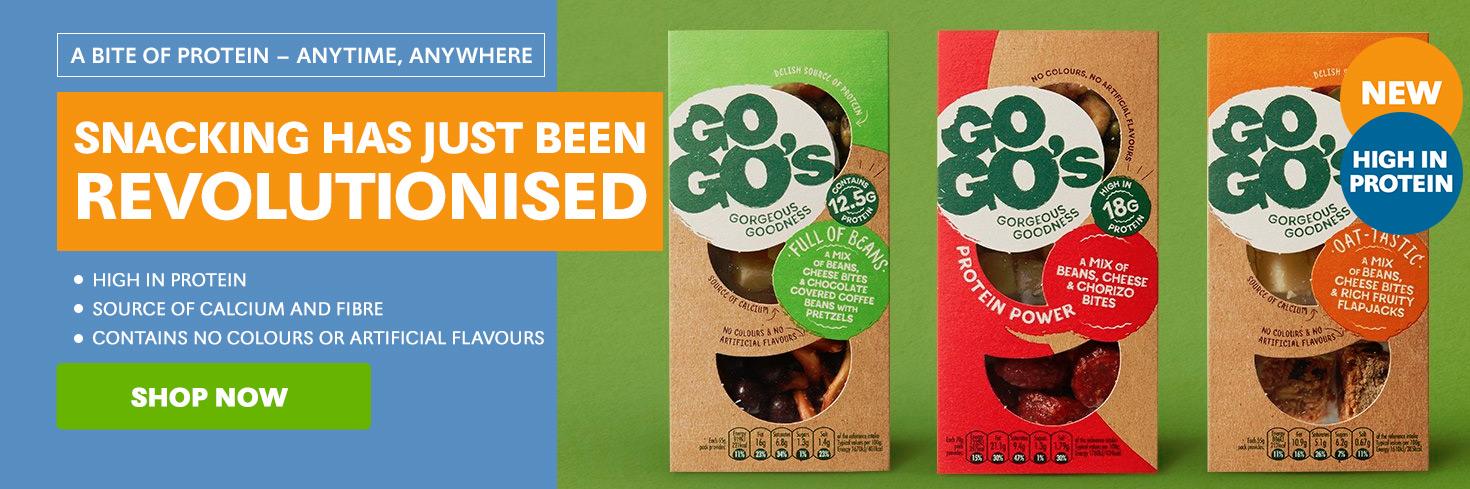 GoGo's Protein Snacks
