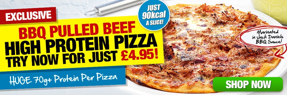 BBQ Pulled Beef Protein Pizza