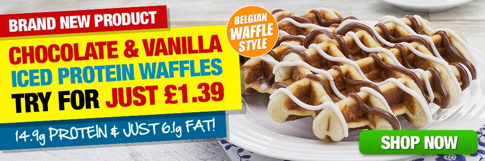 Brand New Protein Waffles