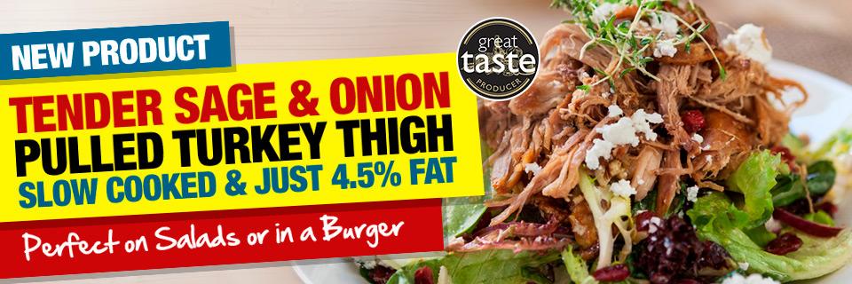 Sage & Onion Pulled Turkey Thigh