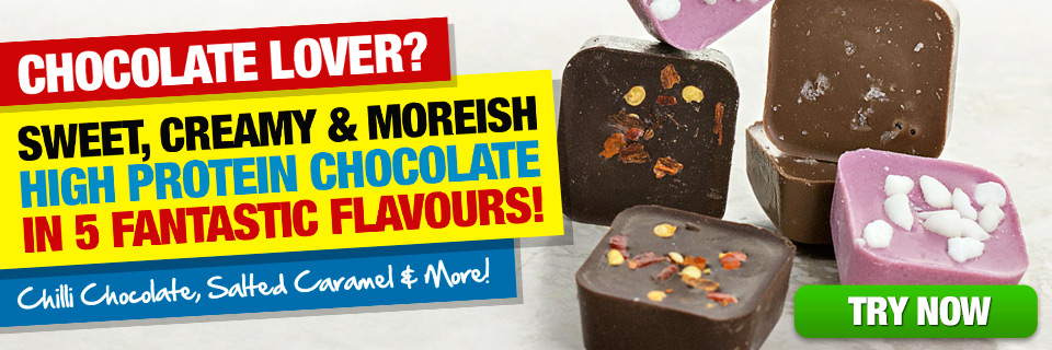 HIGH PROTEIN CHOCOLATE 5 FLAVOURS!