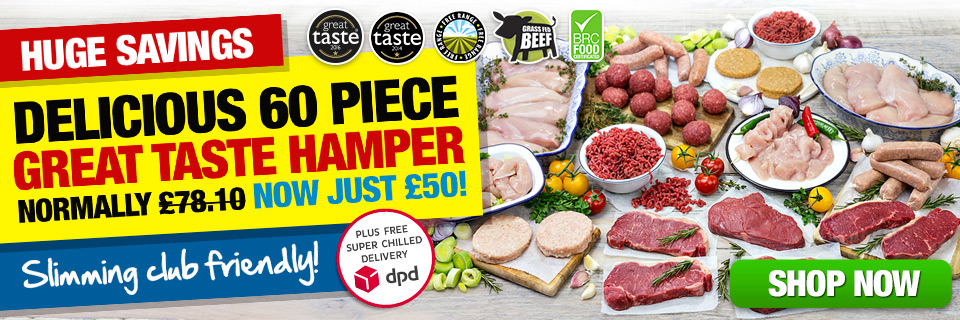 The Great Taste Hamper Today Just £50 | Muscle Food