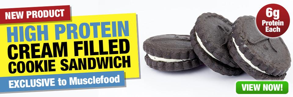 High Protein Cookie Sandwich