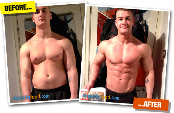 Reduced His Body Fat by an Amazing 12% in Just 12 Weeks