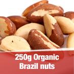 250g Organic Brazil nuts