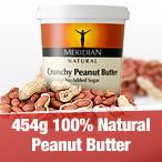 454g 100% Natural Peanut Butter