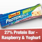 27% Protein Raspberry & Yoghurt Bar