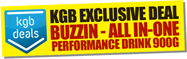 KGB Exclusive Deal - Buzzin All-in-one Performance Drink 900g