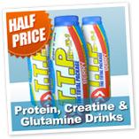 Protein, Creatine & Glutamine Drinks - Value 12 Pack