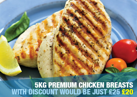 5kg Premium Chicken Breasts