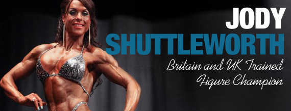 Jody Shuttleworth- Figure Athlete